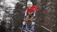 C'è Wonder Woman sulle piste di Cortina!