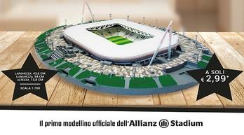 Passione Juventus, costruisci l'Allianz Stadium