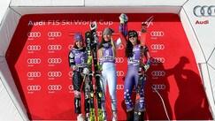 Goggia sbaglia e Vonn vince discesa a Cortina