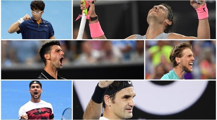 Tennis, Australian Open: tutti i risultati degli ottavi