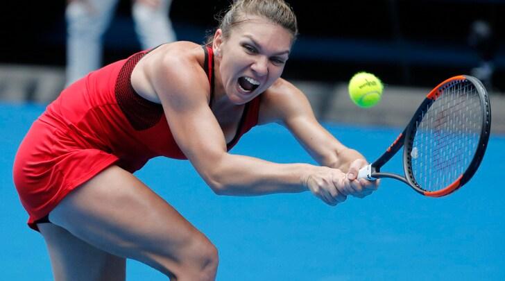 Australian Open, Halep agli ottavi. Sharapova eliminata