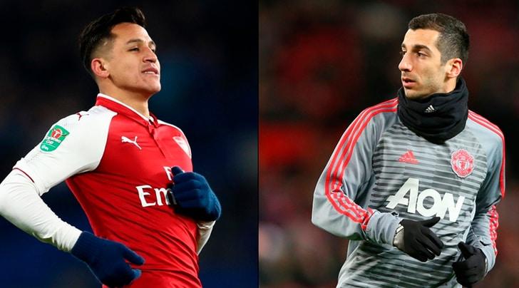 Scambio alla pari: Sanchez va al Manchester United, Mkhitaryan all'Arsenal