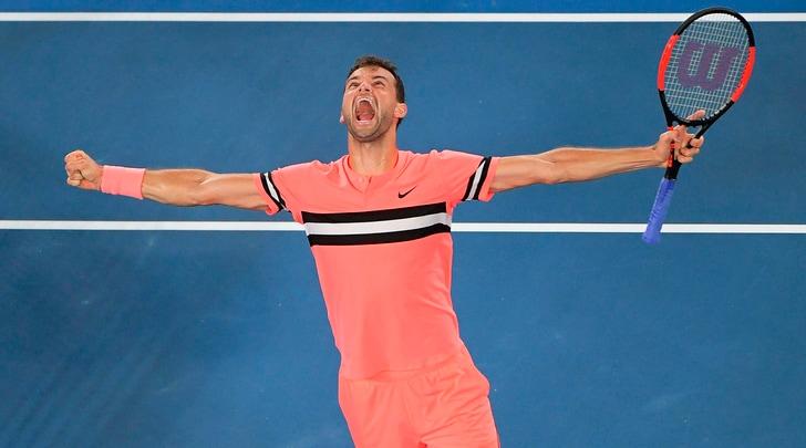 Australia: Dimitrov elimina Kyorgos, va ai quarti