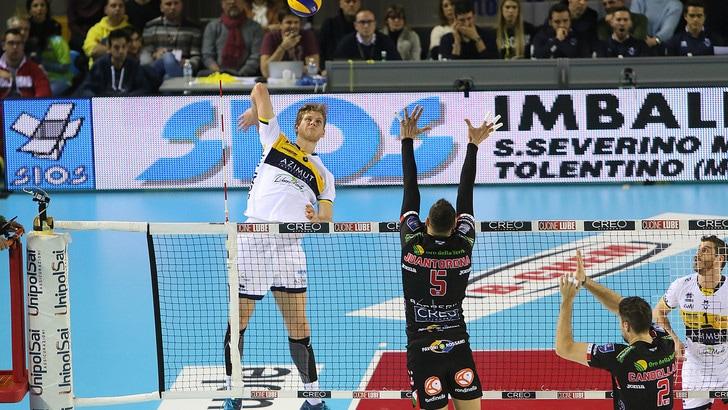 Volley: Superlega, Modena ferma Civitanova, Perugia si invola