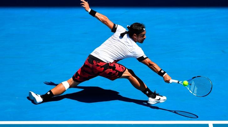 Australian Open, Fognini eliminato da Berdych negli ottavi