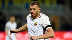 Roma, Dzeko riflette sull'offerta del Chelsea