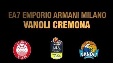 EA7 Emporio Armani Milano-Vanoli Cremona