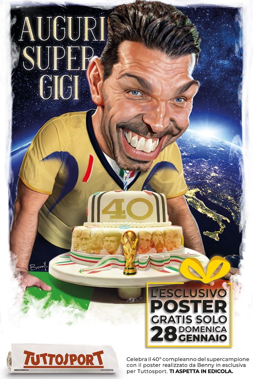 Poster Gigi Buffon