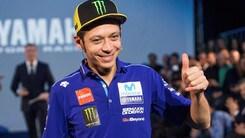 MotoGp Yamaha, Rossi: «Non ho mai pensato di smettere»