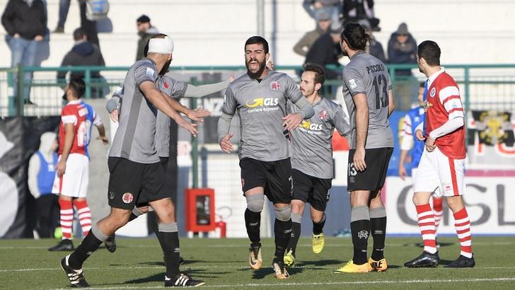 Serie C Alessandria, pari. Il Cuneo vince di misura