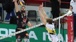Volley: Coppa Italia, la Lube in finale, battuta l'Azimut