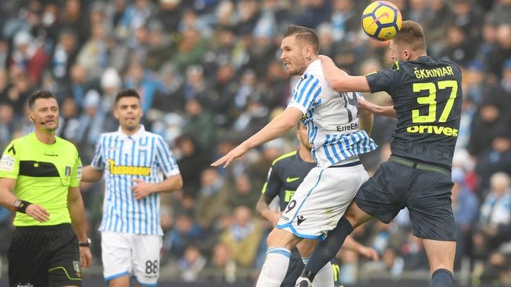 Serie A Spal-Inter 1-1, il tabellino