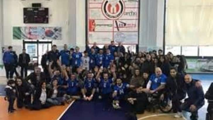 Sitting Volley: 1000 studenti a Nola per Italia-Bosnia