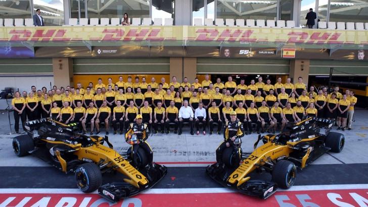 F1, anche la Renault il 20 febbraio