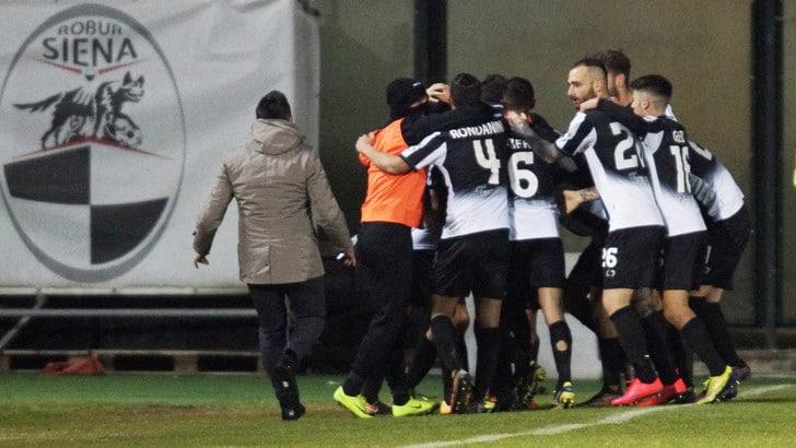 Serie C, nel girone A Siena capolista. L'Alessandria torna a vincere