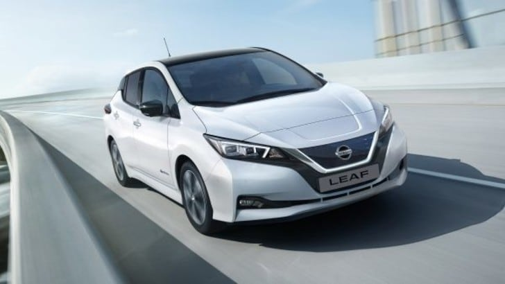 "Nissan Leaf è ""Best Electric Car"" ai what car? Awards 2018"