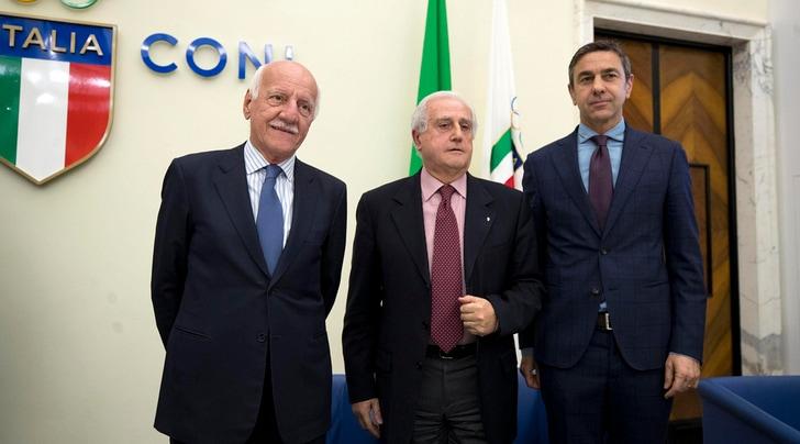 Figc, Fabbricini commissario straordinario. Costacurta subcommissario