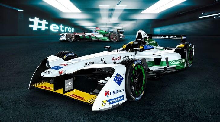 Audi, la svolta elettrica parte dalla Formula E
