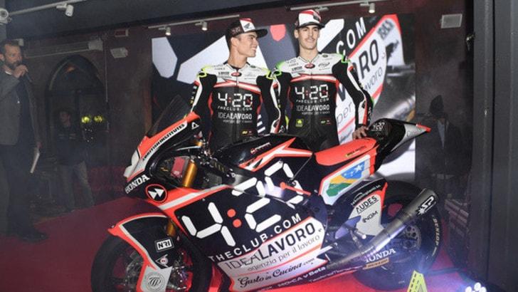 Moto2, ecco il Team Forward