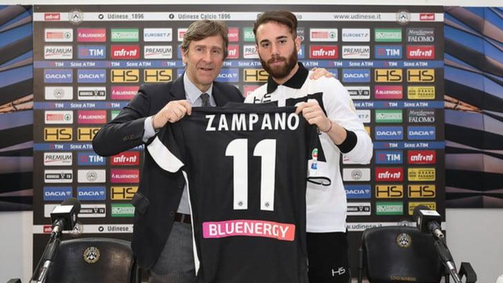 Serie A Udinese, Zampano sicuro: «Ripagherò la fiducia»