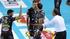 Volley: Superlega, Trento-Perugia super sfida della 7a di ritorno