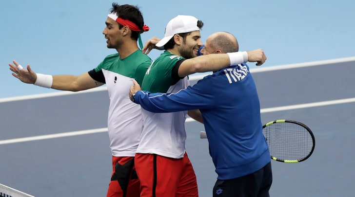 Coppa Davis, Barazzutti: «Punto importantissimo»