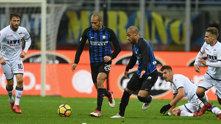 Serie A Inter-Crotone 1-1, il tabellino