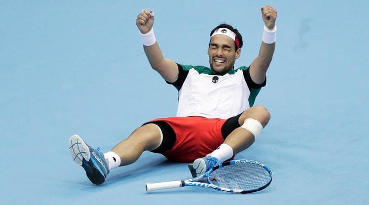 Coppa Davis, Italia-Giappone 3-1: Fognini decisivo
