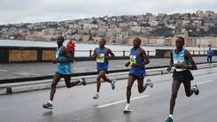 Alla Napoli City Half Marathon Abel Kipchumba si supera e trionfa in 1h00'12