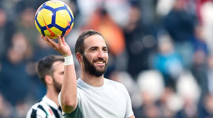 Juventus, Higuain: «Napoli? Lo scudetto dipende da noi»