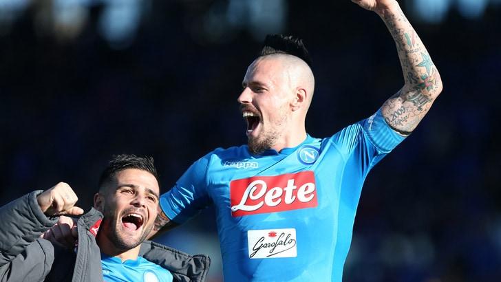 Serie A Napoli, Hamsik:  «Scudetto? Quest'anno toccherà a noi»