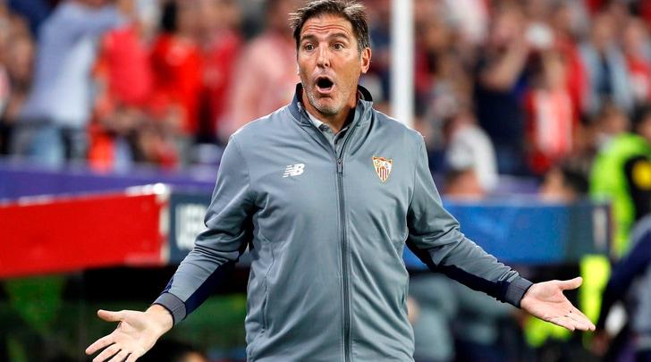 Berizzo sta bene, l'omaggio del Siviglia all'ex allenatore
