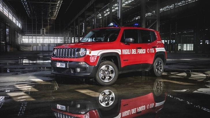 Jeep Renegade in servizio con i Vigili del Fuoco