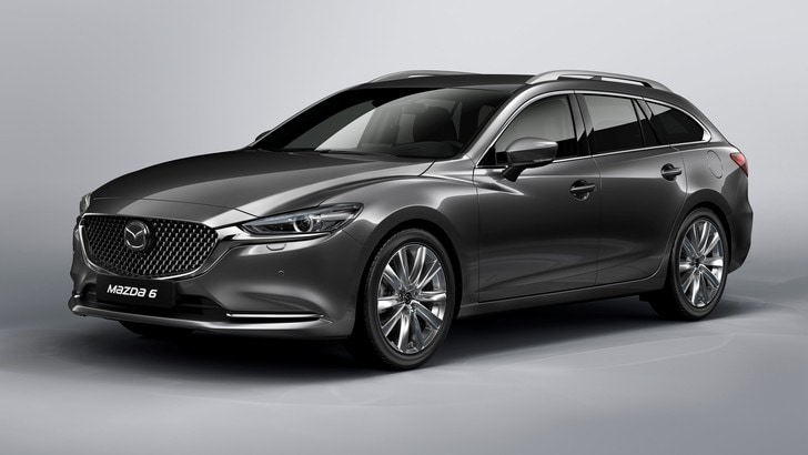 Mazda 6 Wagon, il restyling debutta a Ginevra