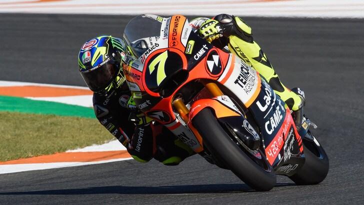 Baldassarri precede Oliveira nei test di Moto2
