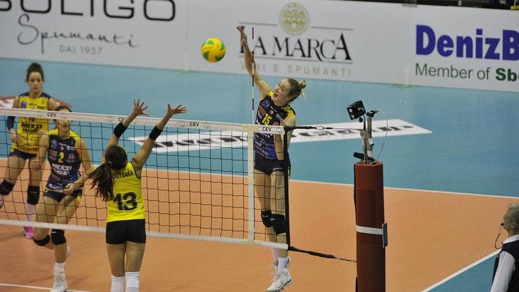 Volley: Champions League, Conegliano batte ancora il Fenerbahce al tie break
