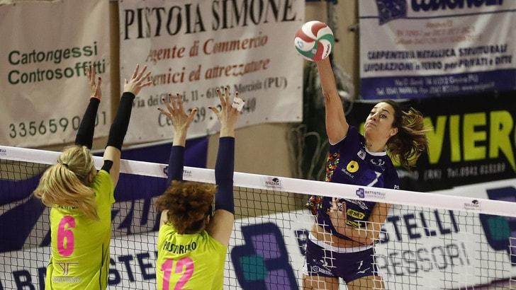 Volley: Coppa Italia A2 Femminile, Battistelli e Mondovì conquistano la finale al tie break
