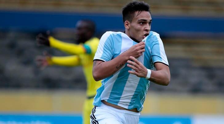 Inter, Martinez si ispira a Falcao e impara... col pc
