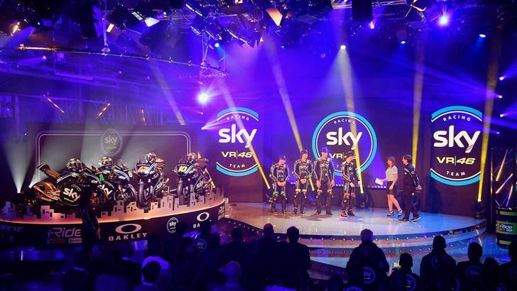 Via i veli allo Sky Racing Team VR46
