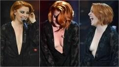 Sanremo 2018, incidente sexy per Noemi