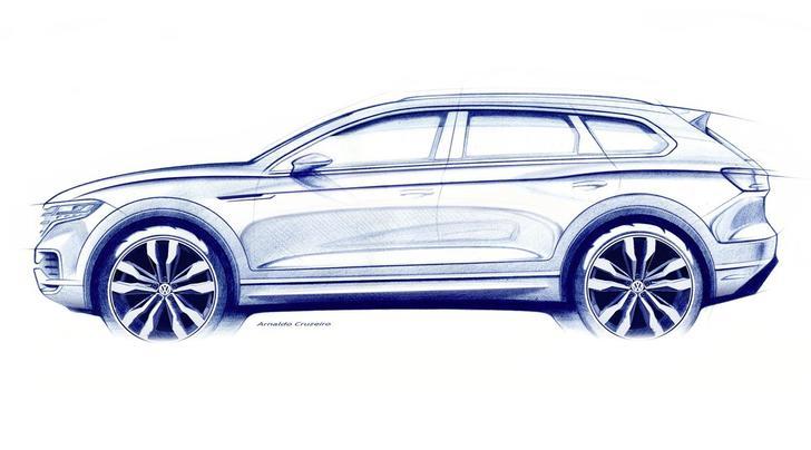 Volkswagen Touareg, la terza generazione debutta a Pechino