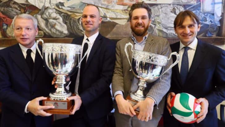 Volley: Presentate al Comune di Bologna le finali di Coppa Italia