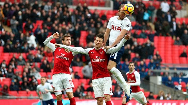 Il Tottenham batte l'Arsenal, Kane avverte la Juventus
