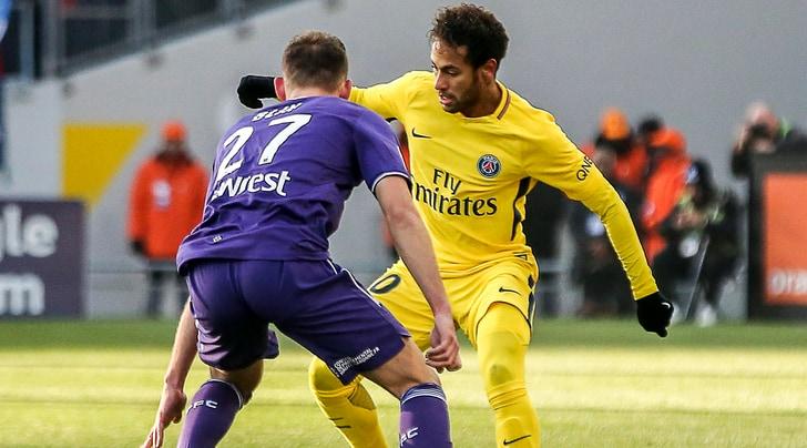 Ligue 1, Tolosa-Psg 0-1: ci pensa Neymar