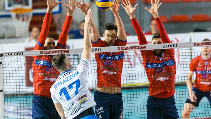 Volley: A2 Maschile, vittorie per Roma e Tuscania