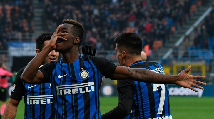Serie A: l'Inter fatica ma piega il Bologna, volano Sampdoria e Genoa