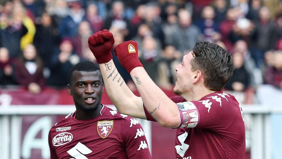 In gol nell'ultimo match di campionato contro l'Udinese, Andrea Belotti ha realizzato due gol contro la Juventus in Serie A – entrambe le reti sono arrivate all'Olimpico Grande Torino.