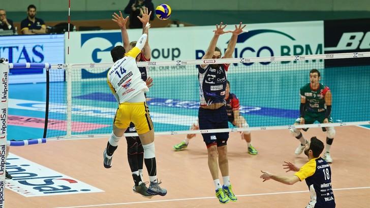 Volley: Superlega, Modena balbetta ancora, vincono Trento e Verona