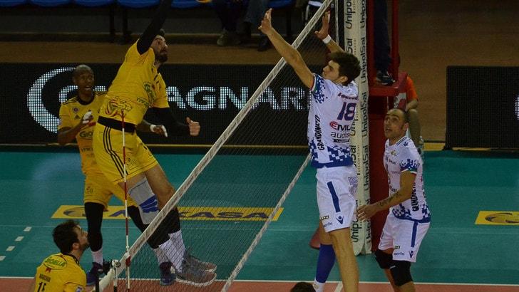 Volley: A2 Maschile, Pool B, sconfitta a Potenza Picena per Gioia del Colle