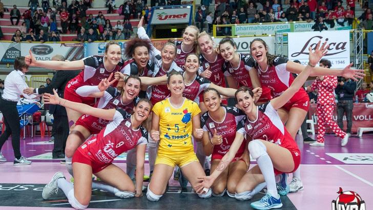 Volley: A1 Femminile, domenica si per Scandicci, Busto e Bergamo